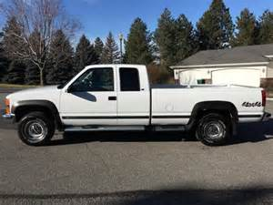 1 owner 1997 chevy silverado 2500 ext cab longbed 4x4 only