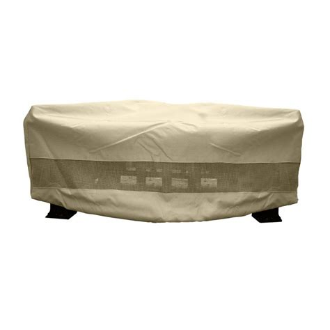 square outdoor pit covers hearth garden 380g polyester square patio pit cover