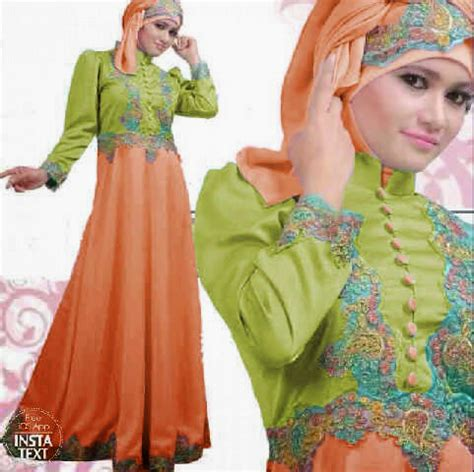 Dress Pesta Gamis Lebaran baju modern muslim 2015 etoko new style for 2016 2017