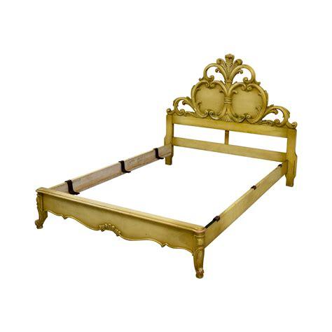 Gold Bed Frames 81 Gold Carved Bed Frame Beds