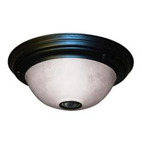 Motion Activated Ceiling Light Fixture Heath Zenith Black Indoor Outdoor Motion Activated Ceiling Light