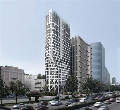designboom beijing mad architects conrad hotel beijing nearing completion