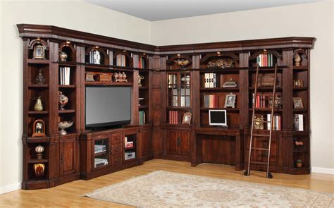 house wellington library bookcase wall unit 5 ph