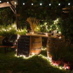 String lights decorative outdoor lighting