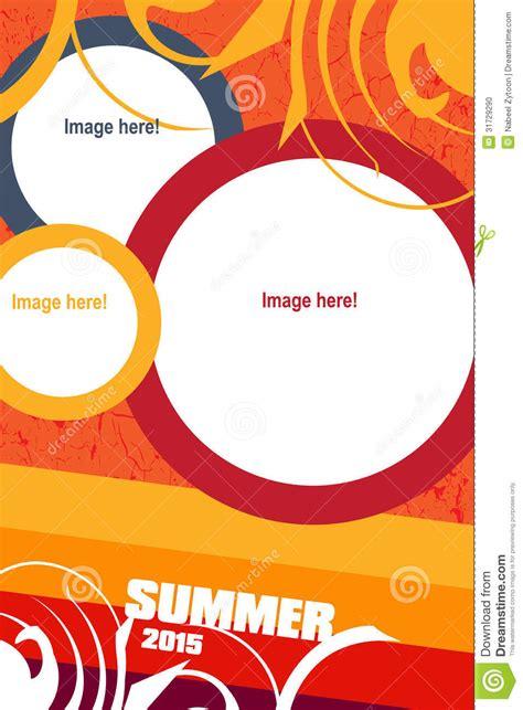 Flat Layout Design Leaflet Design Stock Photo Image 31729290