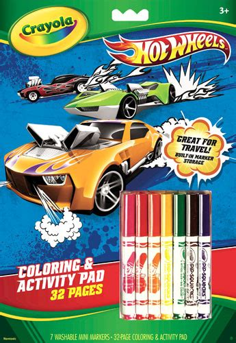 crayola giant coloring pages hot wheels real deal anb media publisher of toys family
