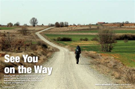 walking the camino walking the camino de santiago see you on the way
