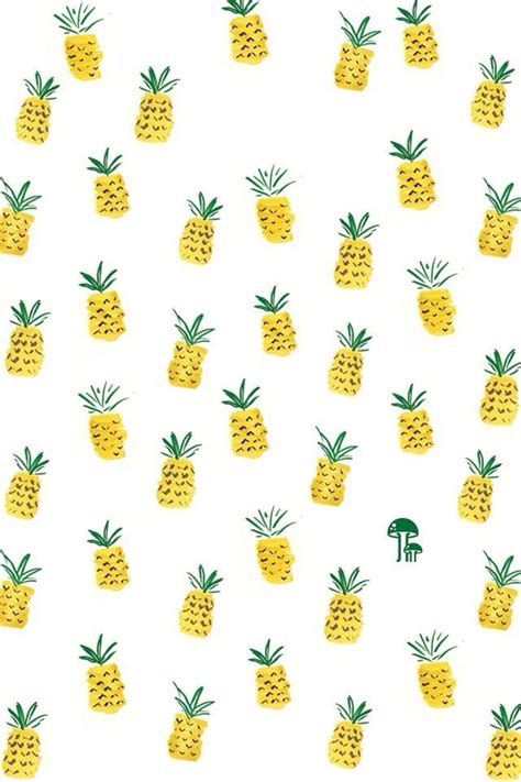 pattern cute background cute pineapple background backgrounds pinterest free