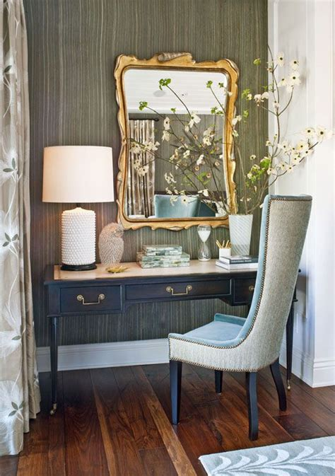 desk in master bedroom a desk from lawson fenning doubles as a vanity in this