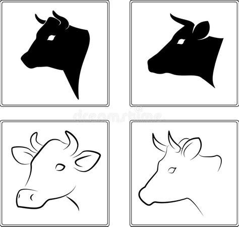 clipart mucca mucca illustrazione vettoriale illustrazione di pittura