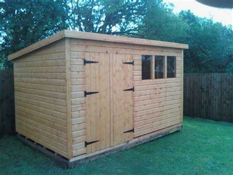 How To Build A Pent Roof Shed