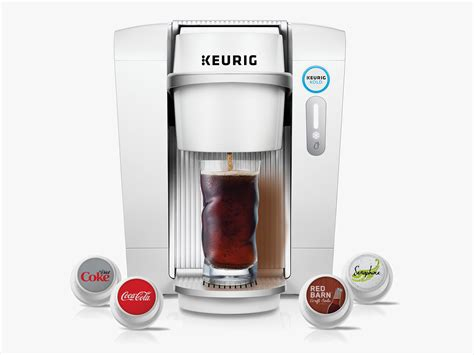 keurig kold trades coffee pods for soda pop wired