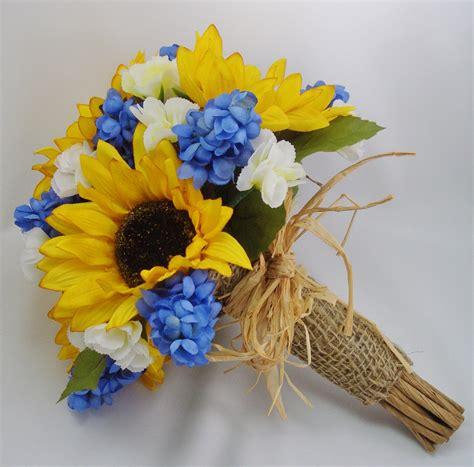 Flower Arrangement Ideas by Sunflower Bridal Bouquet Fft Original Design By