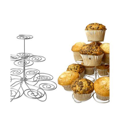 etagere muffins cupcake muffin st 228 nder etagere f 252 r bis zu 13 muffins