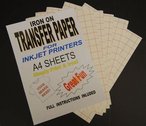 best printable iron on transfer paper 5 best images of printable iron on transfer sheets iron