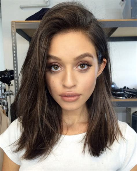 Low Maintenance Hairstyles On Pinterest Messy Lob | 41 low maintenance lob hairstyles you can totally pull off