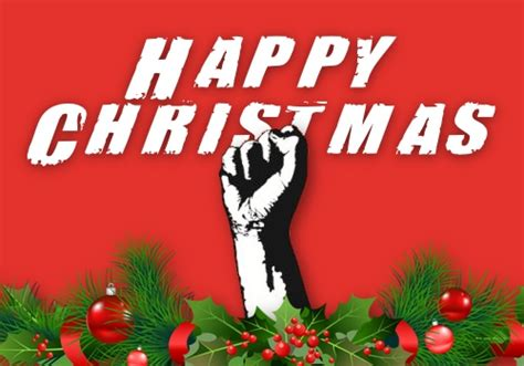wishing you all a happy and revolutionary christmas p ost
