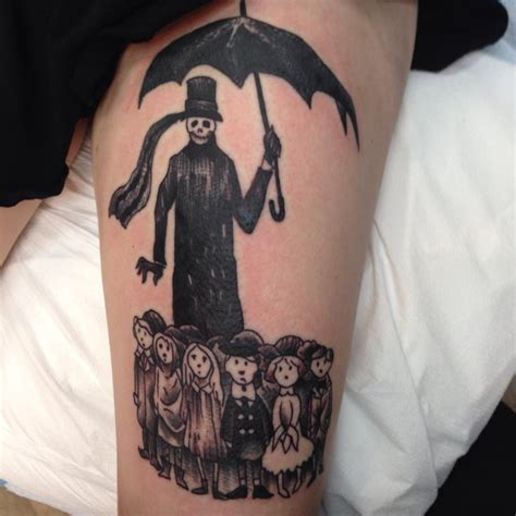 edward gorey tattoo you pinterest edward gorey and