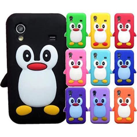 Silicone Rubber 3d Toys Samsung S4 S5note 3 4 Iphone 6 3d penguin character silicone animal cover for