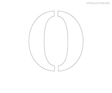 large printable letter o stencil letters o printable free o stencils stencil