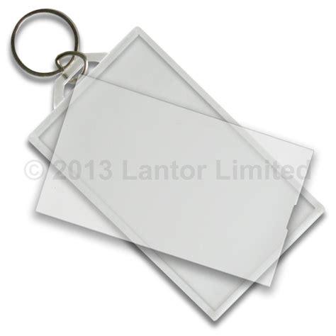 Business Card Keychain