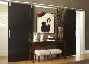 Contemporary Sliding Barn Doors Eye For Design Decorate With Sliding Barn Doors