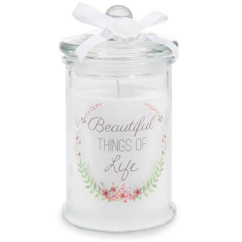 candele bomboniera candela bomboniera in vetro h 15 cm couronne maisons du