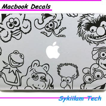 Sticker Macbook Elmo best laptop decals anime products on wanelo