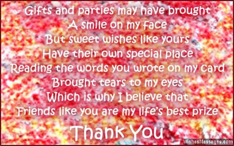 thank you letter to friend for birthday gift thank you messages for birthday wishes quotes and notes