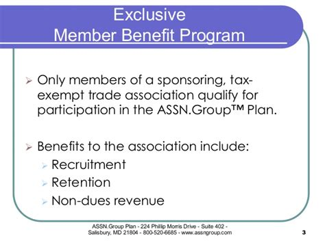 irc section 79 the assn group plan member benefit program
