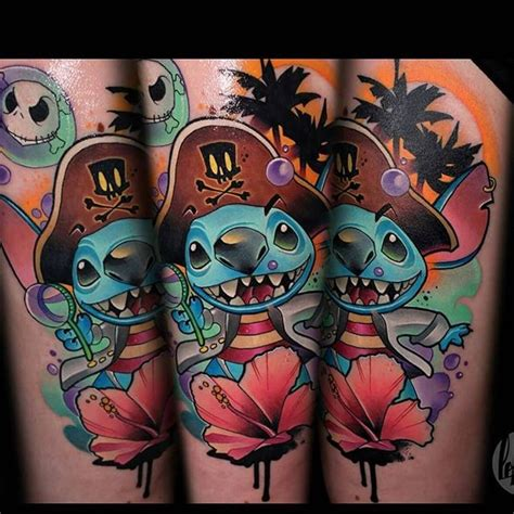 tattoo pirate cartoon great funny pictures tattooimages biz