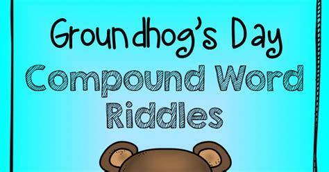 groundhog day one day groundhog day compound words freebie teach123