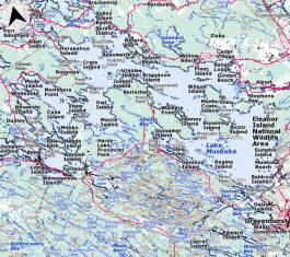 muskoka canada map related keywords suggestions for muskoka map