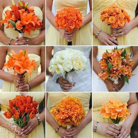 wedding flowers orange county california 2 ramos de novia naranja boda