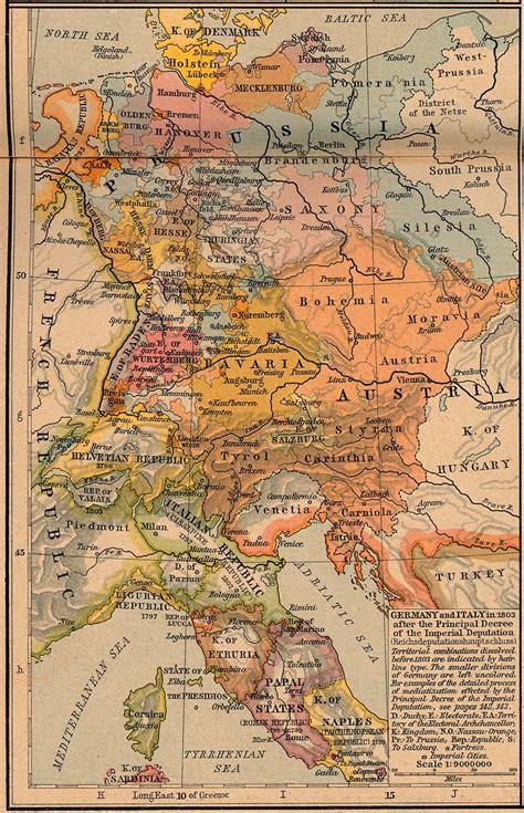 map of italy and germany map of italy and germany