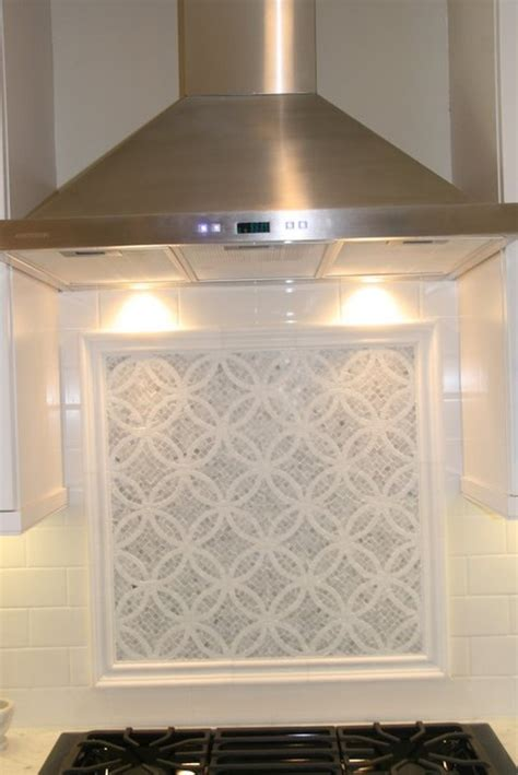 marble mosaic backsplash kitchen