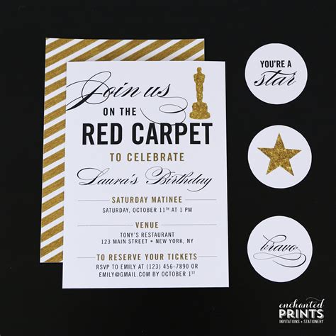 award invitation template carpet birthday invitation awards by