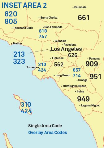 213 Area Code Lookup Image Gallery Los Angeles 310 Area Code
