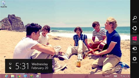 one direction themes for windows 8 1 2013 one direction windows 7 and windows 8 theme 13 july