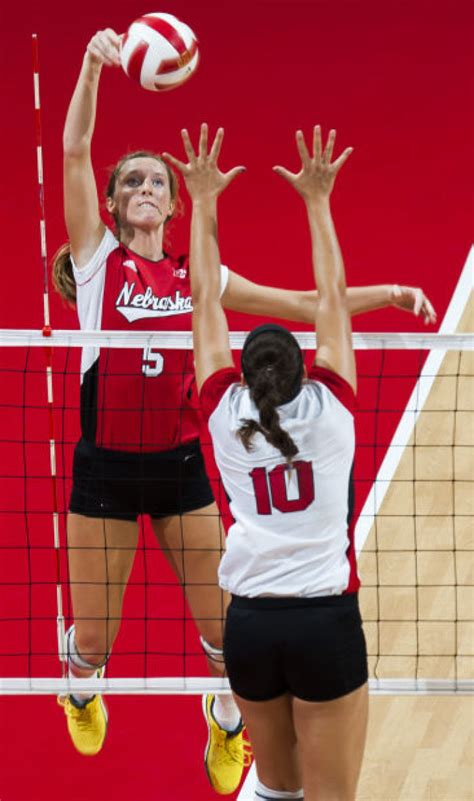 printable nebraska volleyball schedule nu volleyball notes tv schedule announced latest husker
