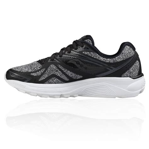 womens black saucony running shoes comfortable saucony ride 9 lr womens running shoes ss17