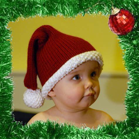 free crochet santa hat for children ravelry santa baby hat pattern by lena swan
