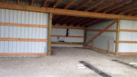 Pole Barn how to build a cheap hangar or pole barn youtube