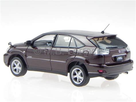harrier lexus new model toyota harrier lexus rx 2006 brown diecast model car j