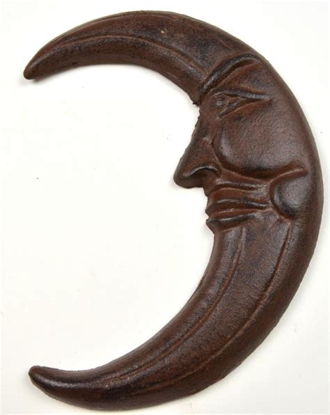 Cast Iron Decor by Wall Decor Moon Cast Iron Decor