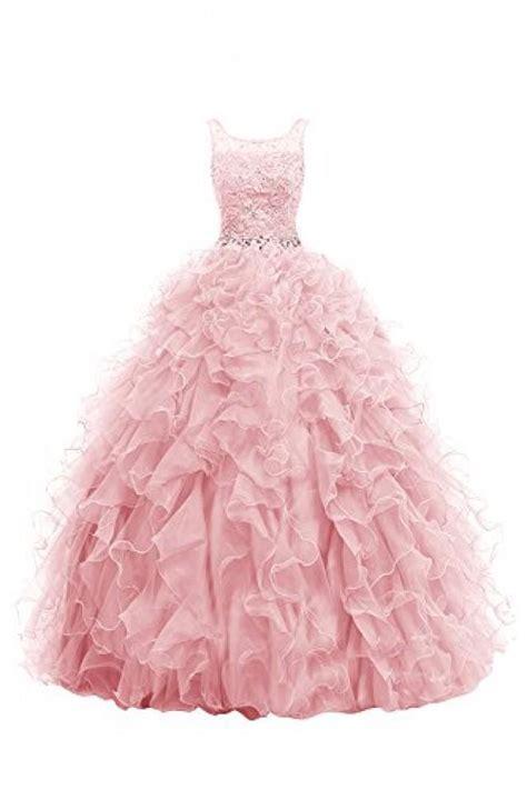 blush ball gown beaded wedding dress 2461259 weddbook