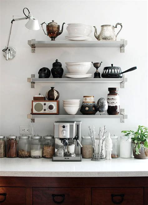 Kitchen Shelves Ideas | 12 kitchen shelving ideas the decorating dozen sfgirlbybay