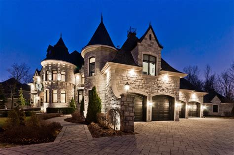 inspired homes 3 88 million castle inspired home in quebec canada