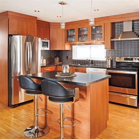 cuisine chaleureuse une cuisine chaleureuse et moderne cuisine avant apr 232 s