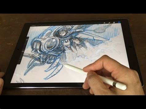 Drawings 8 Pro by Pro 12 9 Pencil Artist Review Vs Cintiq Companion
